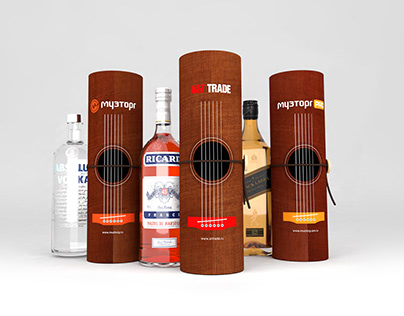 Veneer Bottle Packaging
