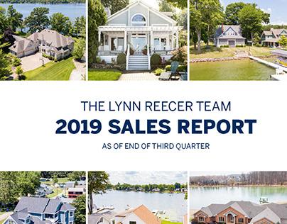 2019 The Lynn Reecer Team Sales Report