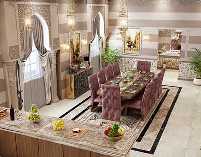 islamic villa ground floor