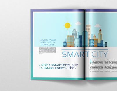 Magazine Layout - Smart City