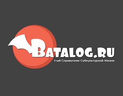 Логотип для сайта www.batalog.ru