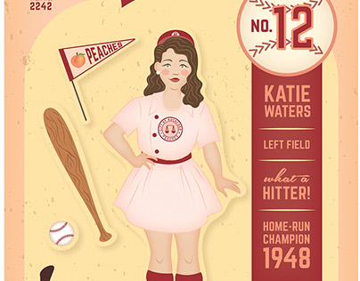 Baseball Character Magnets