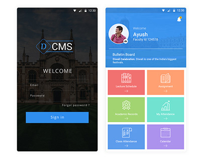 Campus Management System Mobile App