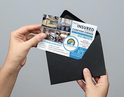 Business Marketing Postcard Design