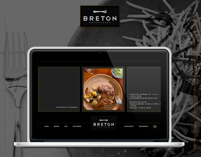 Diseño Web para Breton Rosticeros / Restaurant website