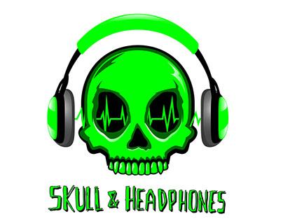 Skull & Headphones Podcast Designs
