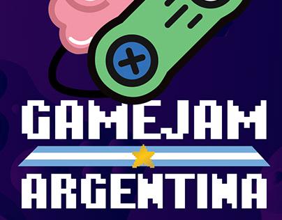 Gamejam Argentina - Logo & Banners