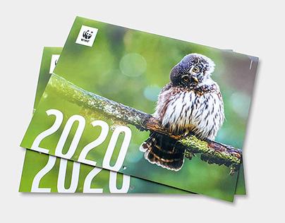 WWF 2020 calendar