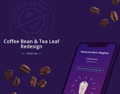 Coffee Bean & Tea Leaf Mobile App | Redesign