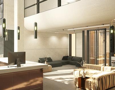 Morandi [ Hotel ] Lobby