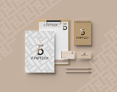 Logo design and branding for F15 - F. Fifteen Agency