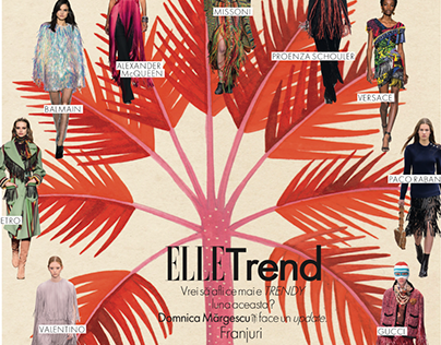 Illustrations for Elle Magazine Romania