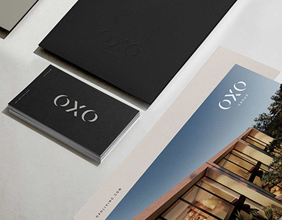 OXO - brand identity and collateral print design