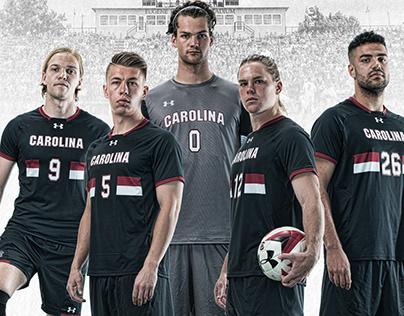 2018 Gamecock Men's Soccer poster