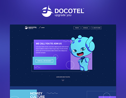 Career pages of docotel