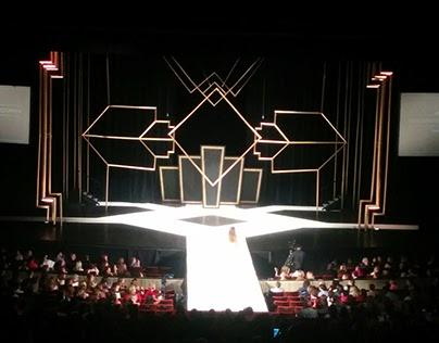 Fashion Show Set - Art Deco Theme