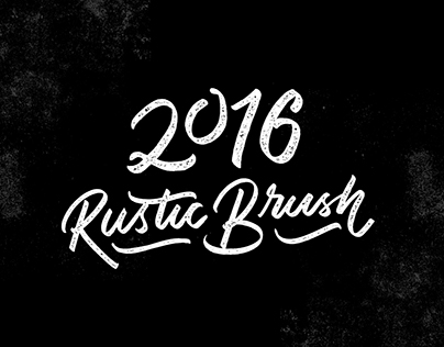 2016 - Rustic Brush Commission Work Review