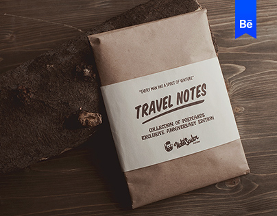 TRAVEL NOTES. POSTCARDS