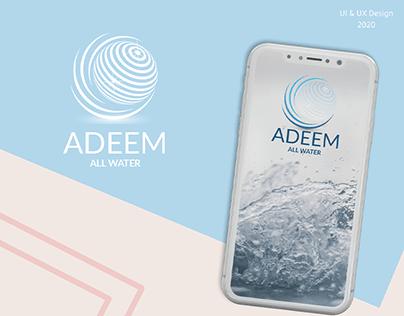 Water app | ecommerce app