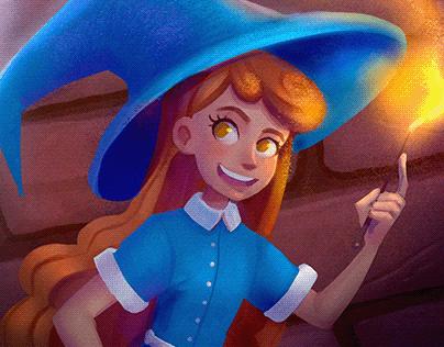 Illustrations Witch Story/Иллюстрации Ведьмина История