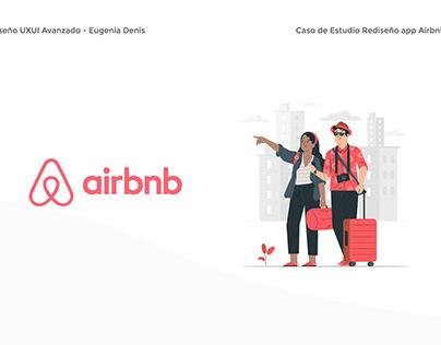 Rediseño app Airbnb - UXUI