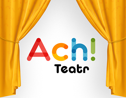 branding and web design for Ach! Teatr