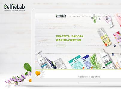 Website development for the Selfielab