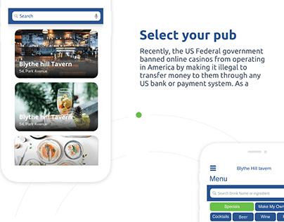 PubHub-Drink Order app