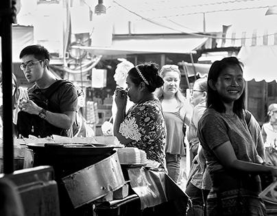 A B&W Chatuchak Market