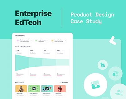 Enterprise Learning Management Product Design