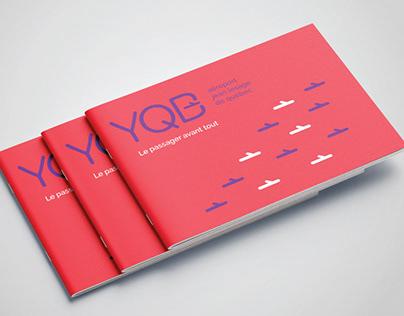 YQB - Aéroport de Québec - Identité visuelle
