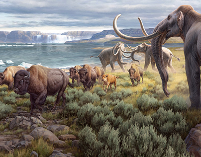 Yakima Valley Museum | Great Ice Age Floods Mural