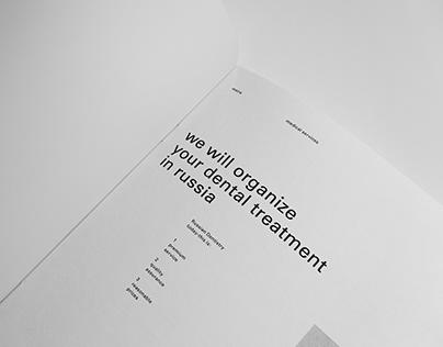 meira dental clinic / brochure