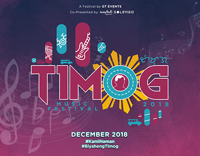 Timog Music Festival - Visuals