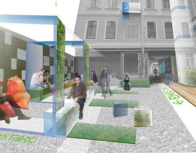 Проект реконструкции городской среды улицы Кирочная 24