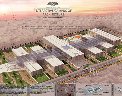 Interactive Campus Of Architecture