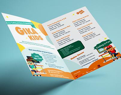 Brochure for Gika Kids