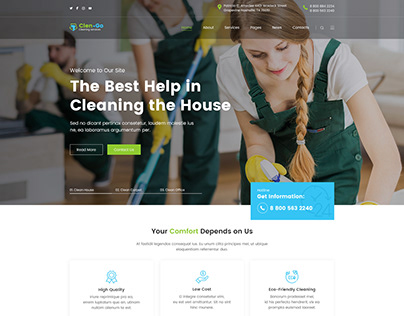Clengo - Cleaning Company WordPress Theme