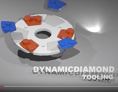 Dynamic Diamond Tooling 3ds Max Animation