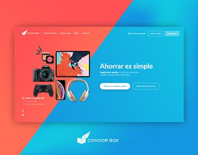 Condor Box Website