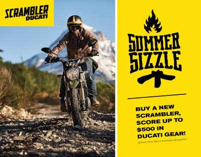 Ducati—SCRAMBLER Summer Sizzle