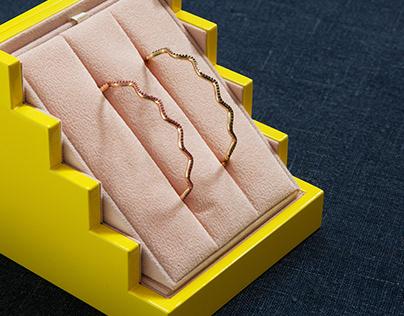 Sabine Getty – Website, Packaging and Print.