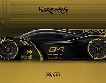 Aston Martin Valkyrie AMR Pro Livery Concepts