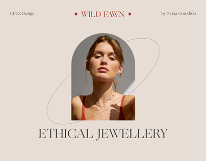 Wild Fawn. Ethical jewellery e-commerce