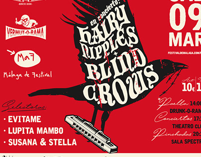 HAIRY NIPPLES + BLIND CROWS - VERMUT-O-RAMA