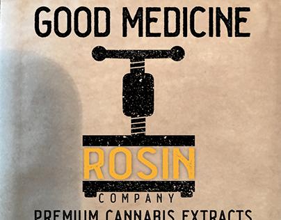 Good Medicine Rosin Company Cannabis Product Labels