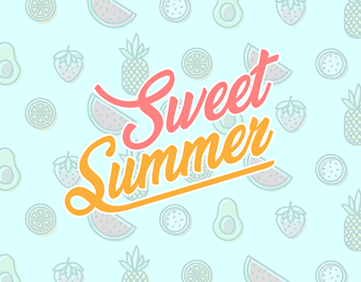 Sweet Summer Fruits
