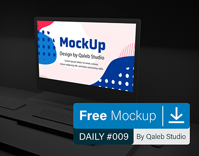Free Dark iMac Pro
