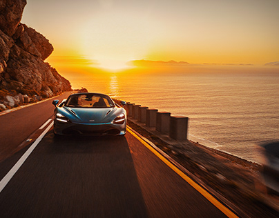 McLaren 720S Spider in Cape Town