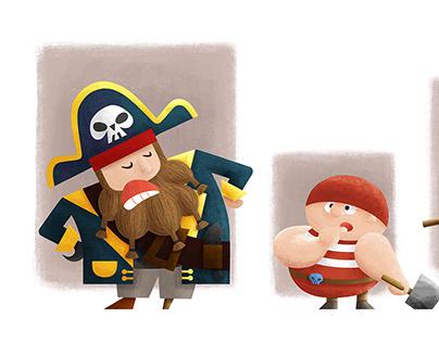Illustration - Pirates